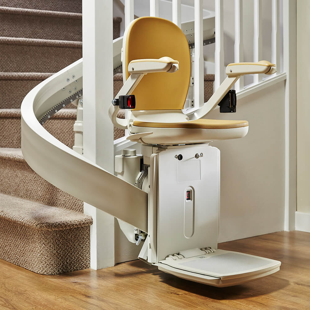 curved stairlift Blackburn
