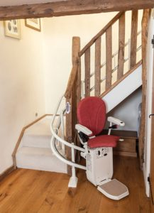 curved stairlift london